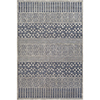 This item: Aesop Dark Blue and Grey Rectangular: 6 Ft. 7 In. x 9 Ft. 6 In. Rug