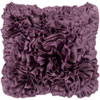 This item: Grape Ruffle 18 x 18 Pillow