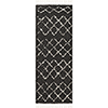 This item: Berber Shag Charcoal Runner: 2 Ft. 7 In. x 7 Ft. 3 In. Rug