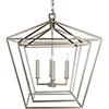 This item: Bellair Silver Four-Light Pendant