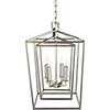 This item: Bellair Silver 14-Inch Four-Light Lantern Pendant