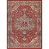 This item: Bohemian Bright Red and Teal Rectangular: 3 Ft. 11 In. x 5 Ft. 7 In. Rug