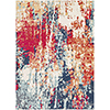 This item: Bohemian Navy and Red Rectangular: 3 Ft. 11 In. x 5 Ft. 7 In. Rug
