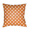 This item: Orange Boo 20-Inch Throw Pillow with Poly Fill