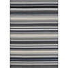 This item: City Grey and Black Rectangular: 5 Ft. 3 In. x 7 Ft. 3 In. Rug