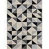 This item: City Grey and Beige Rectangular: 5 Ft. 3 In. x 7 Ft. 3 In. Rug