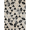 This item: City Grey, Black and Beige Rectangular: 9 Ft. 3 In. x 12 Ft. 3 In. Rug