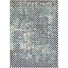 This item: City Aqua, Charcoal and Beige Rectangular: 3 Ft. 11 In. x 5 Ft. 7 In. Rug