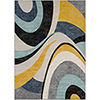 This item: City Multicolor Rectangular: 7 Ft. 10 In. x 10 Ft. 3 In. Rug