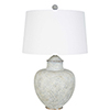 This item: Cooper Gray and White Patina 28-Inch One-Light Table Lamp