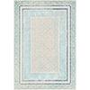 This item: Harput Aqua and Blue Rectangular: 3 Ft. 11 In. x 5 Ft. 7 In. Rug