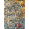 This item: Herati Butter, Aqua and Red Rectangular: 5 Ft. 3 In. x 7 Ft. 3 In. Rug