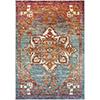 This item: Herati Aqua, Orange and Red Rectangular: 7 Ft. 10 In. x 10 Ft. 6 In. Rug