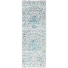 This item: Himalayan Pale Blue Runner: 2 Ft. 7 In. x 7 Ft. 3 In. Rug