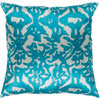This item: Lambent Sea Foam and Teal 18 x 18 In. Throw Pillow