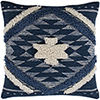 This item: Lachlan Navy and Cream 22 In. x 22 In. Pillow Cover
