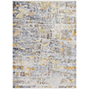 This item: Liverpool Ivory and Grey Rectangular: 3 Ft. 11 In. x 5 Ft. 7 In. Rug