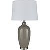 This item: Lyle Taupe and White One-Light Table Lamp