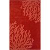 This item: Mystique Dark Red Rectangular: 5 Ft. x 8 Ft. Rug