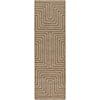 This item: Mystique Tan Runner: 2 Ft. 6 In. x 8 Ft. Rug