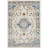 This item: Notting Hill Teal and Peach Rectangular: 7 Ft. 10 In. x 10 Ft. 3 In. Rug