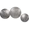 This item: Noor Silver Decorative Accent, Set of Three
