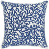 This item: Osprey Dark Blue and Cream 18 x 18 In. Throw Pillow Cover