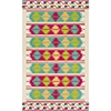 This item: Rain Pink and Emerald Indoor/Outdoor Rectangular: 8 Ft. x 10 Ft. Rug