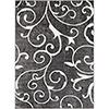 This item: Rabat Charcoal Rectangular: 5 Ft. 3 In. x 7 Ft. 3 In. Rug