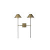 This item: Havana Antique Brass Two-Light Wall Sconce