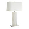 This item: Farrell Vintage Silver One-Light Table Lamp