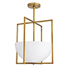 This item: Royce Gold Two-Light Pendant