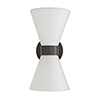 This item: Richard Gray Two-Light Outdoor Wall Sconce
