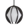 This item: Puzol Aged Iron One-Light Outdoor Pendant