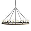 This item: Geoffrey Gray 60-Inch 20-Light Chandelier