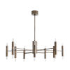 This item: Bozeman Heritage Brass 20-Light Chandelier