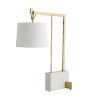 This item: Ray Antique Brass One-Light Table Lamp