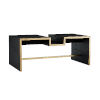This item: Frank Ponterio Black Shelby Cocktail Table