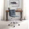 This item: Isabella Silver Office Chair