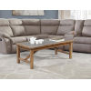 This item: Charlotte Rustic Brown Acacia Coffee Table