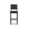 This item: Aiden Antique Charcoal Bar Stool