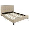 This item: Sawyer Black Queen Bed