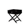 This item: Sofia Black Accent Table