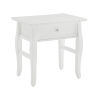 This item: Ramey White End Table