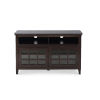 This item: Leslie Dark Walnut Media Center