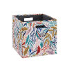 This item: Liam Multicolor Floral Storage Bin, Pack of 2