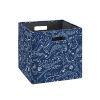 This item: Liam Blue Dinosaur Storage Bin, Pack of 2