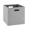 This item: Ellis Grey Storage Bin, Pack of 2