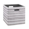 This item: Ellis Gray and Green Storage Bin, Pack of 2