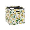 This item: Liam Multicolor Lemon Storage Bin, Pack of 2